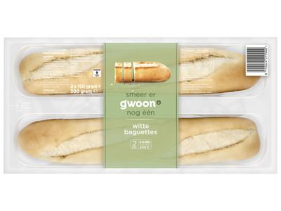 Baguettes wit product foto