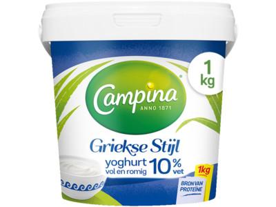 Yoghurt Griekse stijl product foto