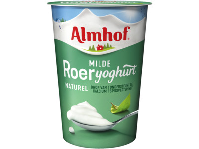 Roeryoghurt naturel product foto