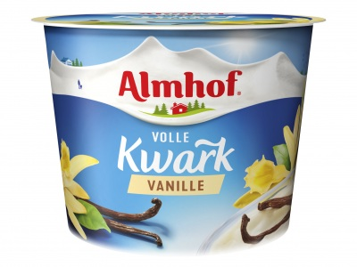Volle kwark vanille product foto