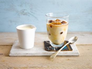 IJskoude espresso product foto