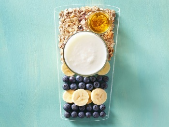 Blueberry smoothie product foto